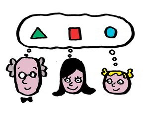 Pensamiento visual dibujos