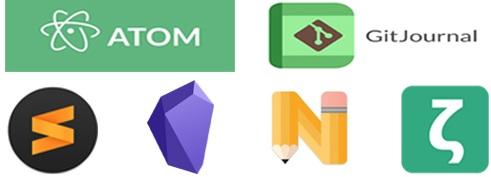 Apps para tomar notas 2021 que soportan Markdown