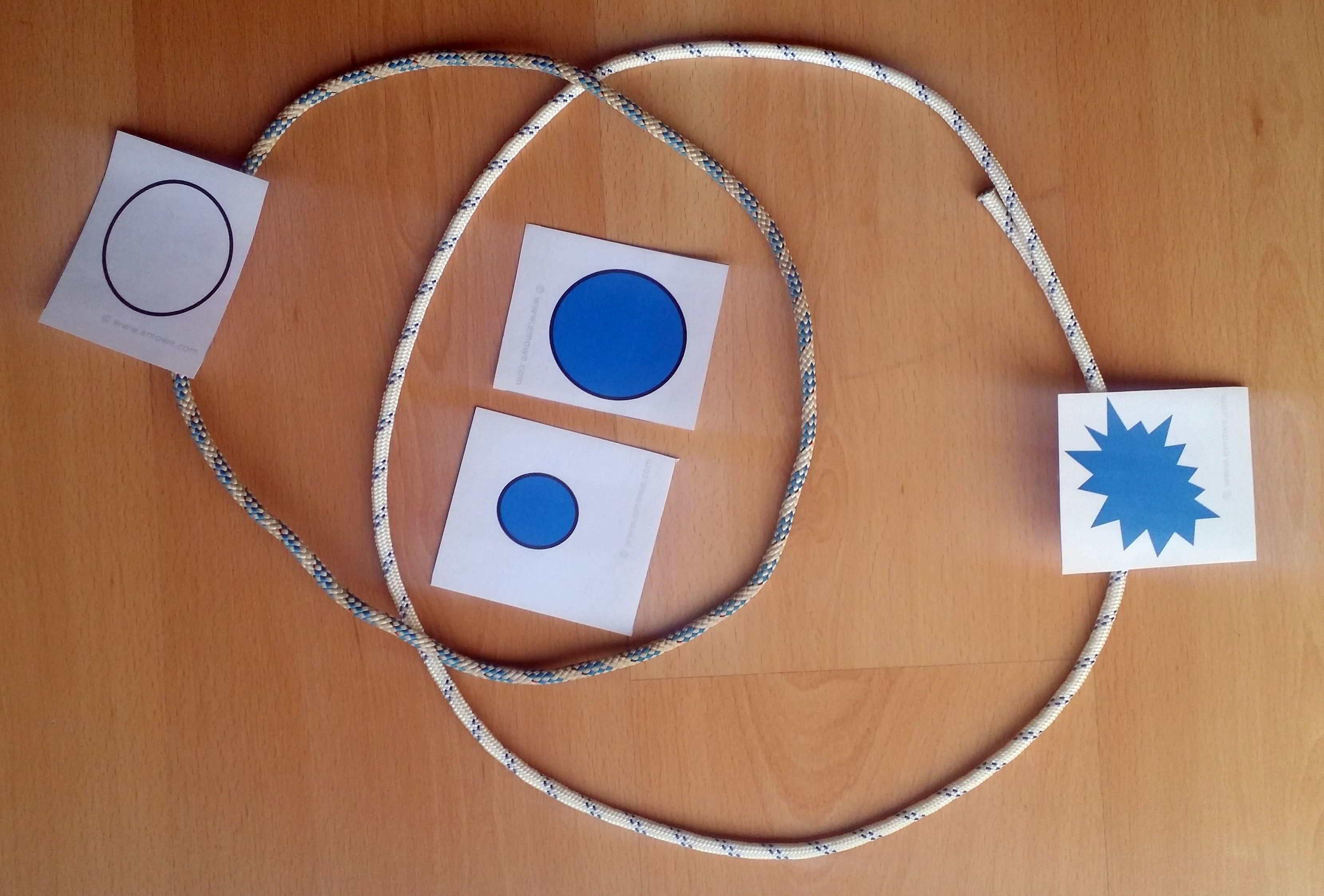 Estimular inteligencia l gica del ni o con los atributos - Cuerdas de colores ...