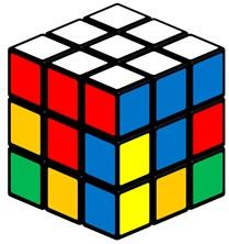 Paso 2 - Cara superior del cubo completa